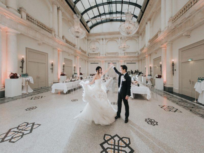 Elegante moderne Hochzeit 5 Star Wedding Berlin
