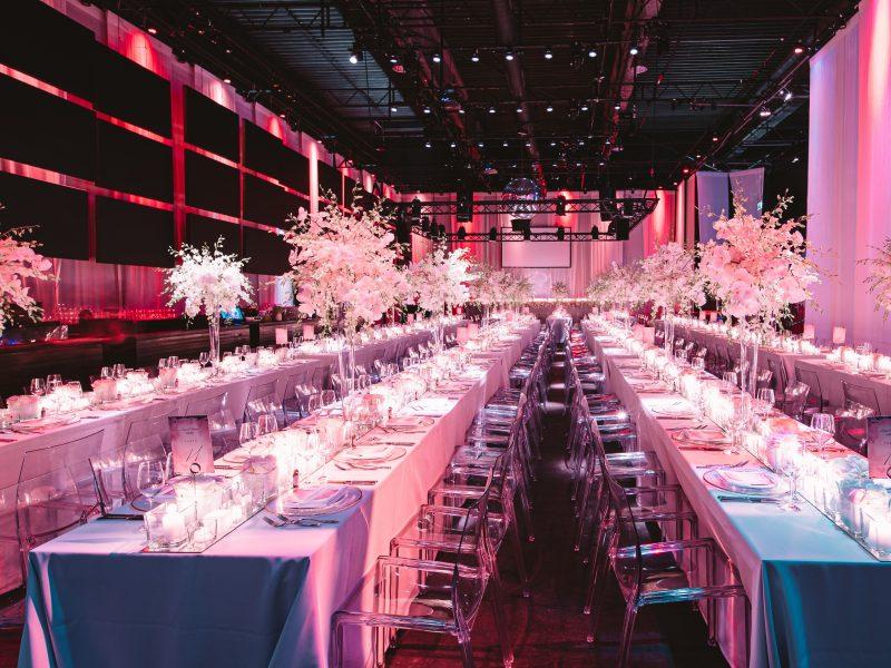 Elegante Hochzeit im Berliner Club