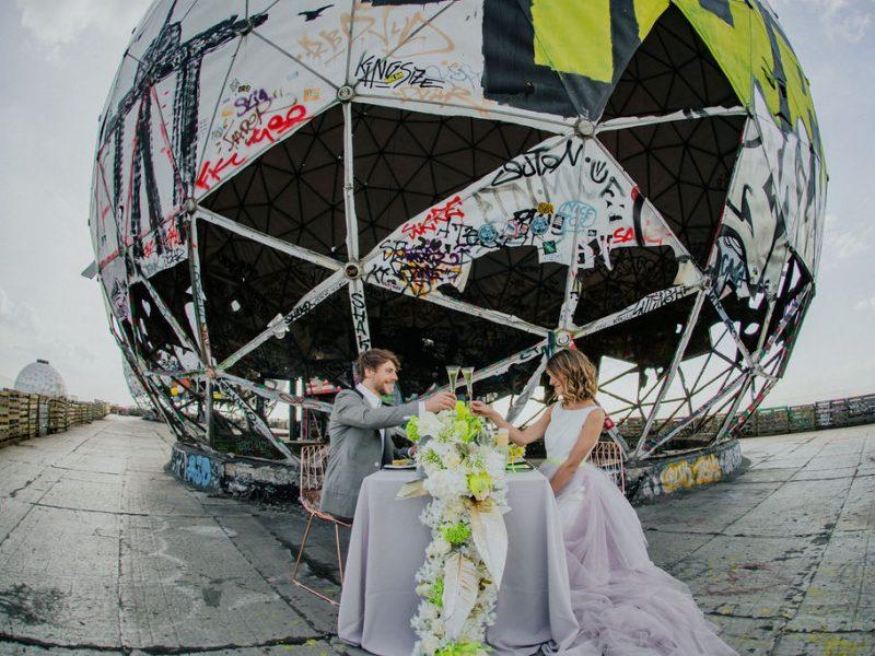 Hochzeit Teufelsberg Berlin